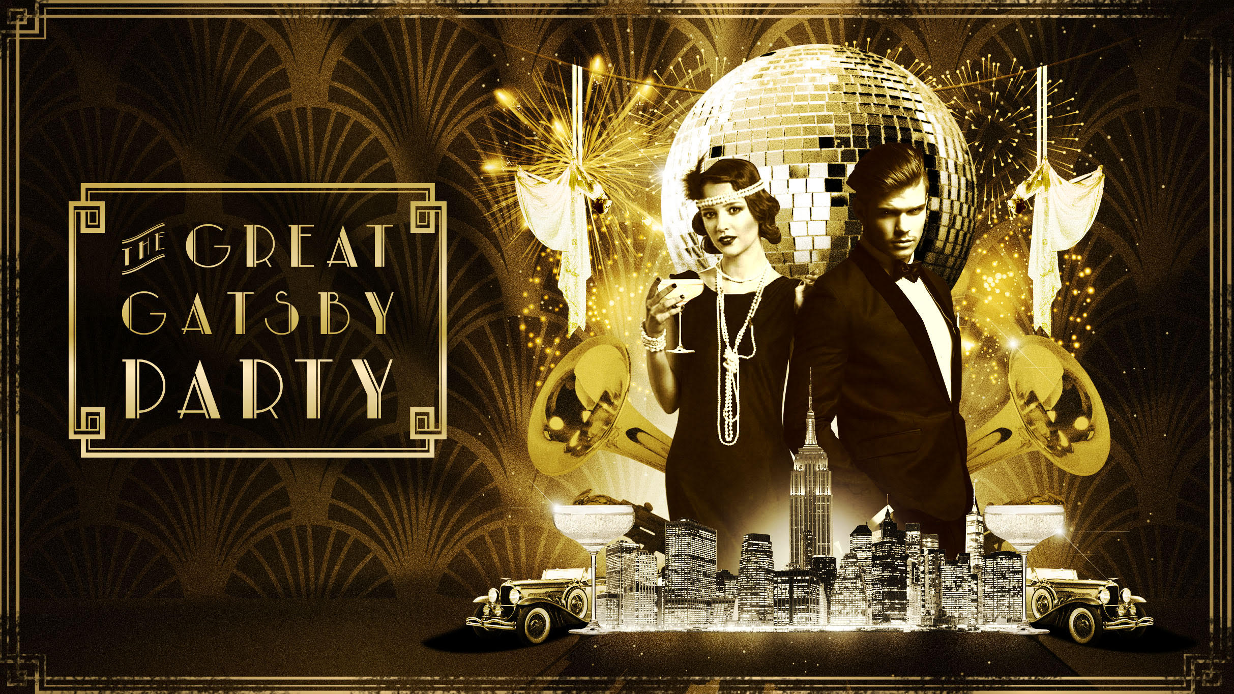 Great Gatsby Halloween Party