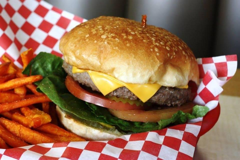 Wednesday Burger or Chicken Sandwich basket $10.00