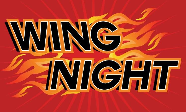 Wing Night Saturday